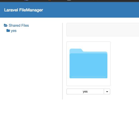 Laravel CKEditor 整合 Laravel file manager